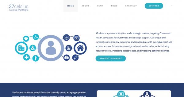 37Celsius Website Screenshot