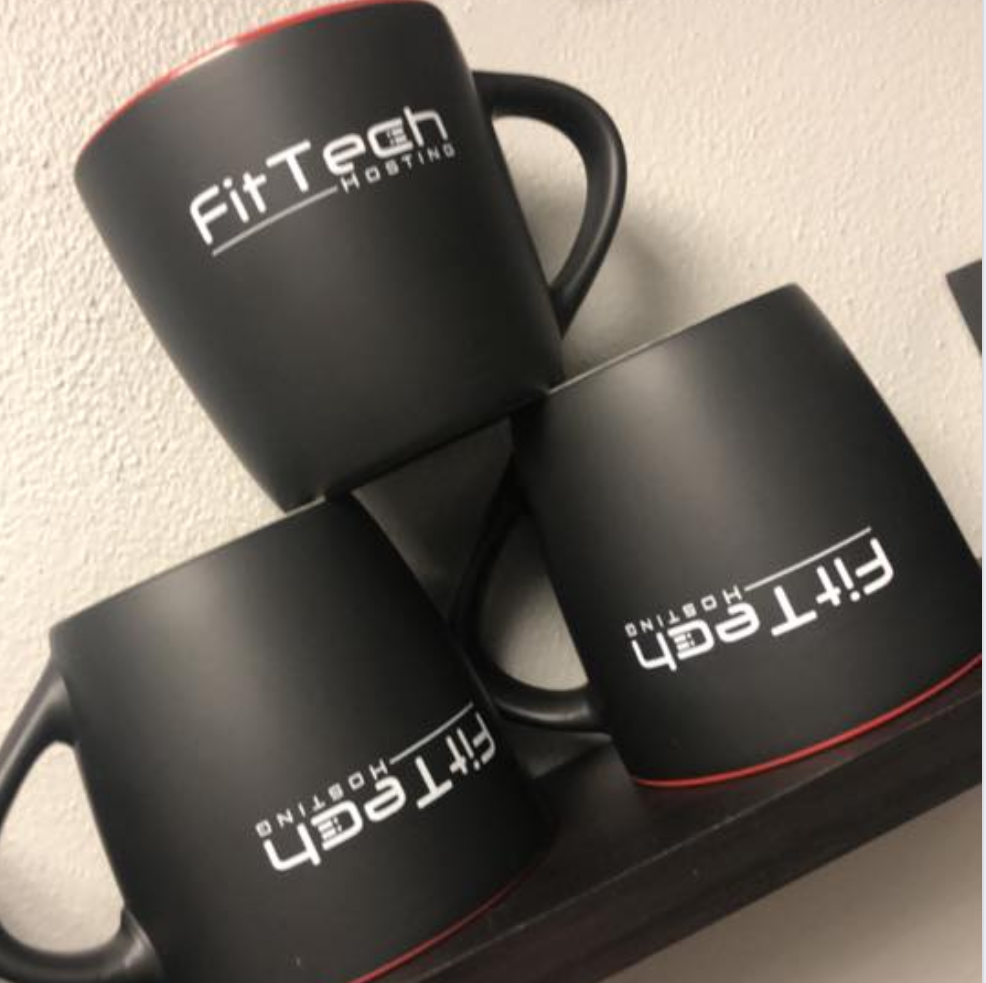 FitTech Branded Coffee Mugs